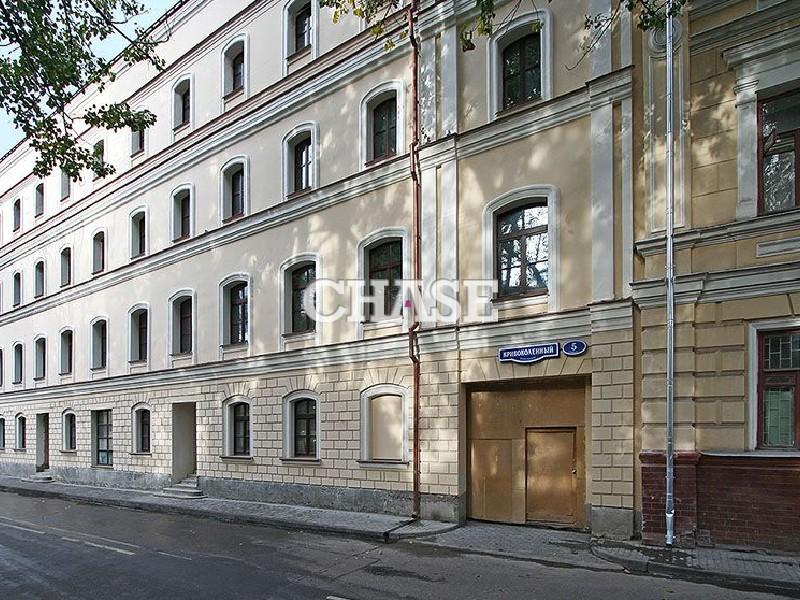 Поиск офисных помещений Кривоколенный переулок коммерческая недвижимость для предпринимателей